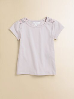 Burberry - Toddler's & Little Girl's Shoulder Patch Tee