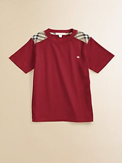 Burberry - Toddler's & Little Boy's Shoulder Patch Tee