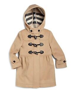 Burberry - Little Girl's Wool Duffle Coat
