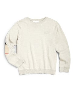 Burberry - Little Boy's Check Patch Sweater