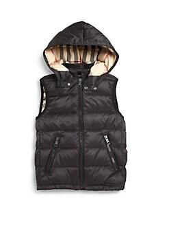 Burberry - Little Boy's Down Puffer Vest