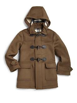 Burberry - Little Boy's Wool Duffle Coat