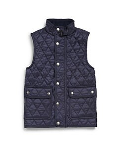 Burberry - Boy's Quilted Vest