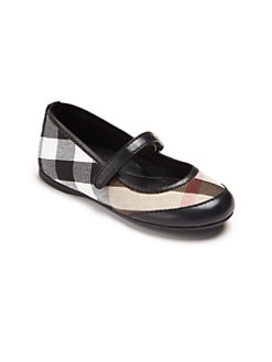 Burberry - Toddler's & Little Girl's Check Mary Janes