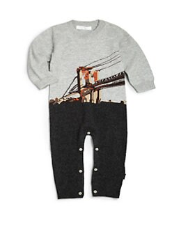 Burberry - Infant's Brooklyn Bridge Cashmere Overall