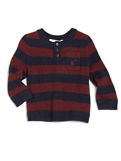 Burberry - Toddler Boy's Cashmere Striped Sweater