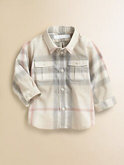 Burberry - Infant's Check Shirt