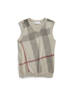 Burberry - Toddler's & Little Boy's Cashmere-Blend Vest