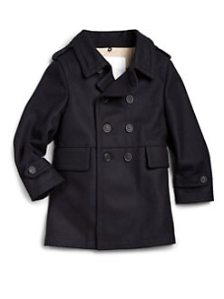 Burberry - Little Boy's Double-Breasted Coat