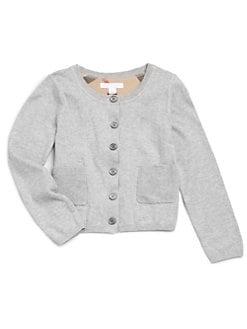 Burberry - Little Girl's Classic Cotton Cardigan