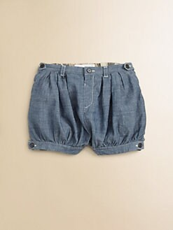 Burberry - Infant's Woven Poufy Shorts