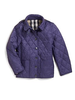 Burberry - Little Girl's Quilted Jacket