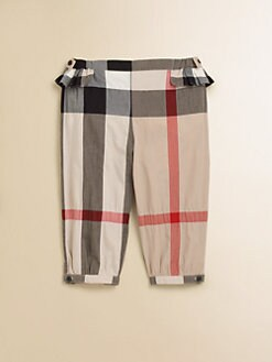 Burberry - Infant's Check Pants