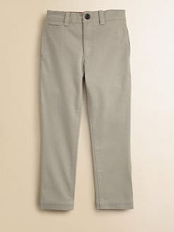 Burberry - Boy's Twill Chino Pants