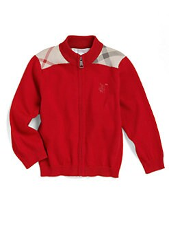Burberry - Toddler's Zip-Up Sweater
