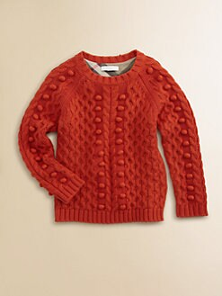 Burberry - Little Girl's Frosted Cable Sweater