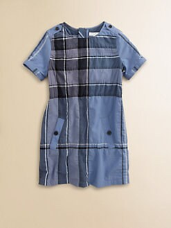 Burberry - Little Girl's A-Line Check Dress