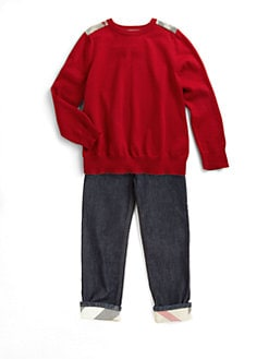 Burberry - Little Boy's Pullover Sweater