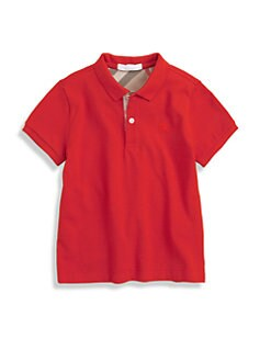 Burberry - Little Boy's Check Polo Shirt