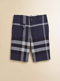 Burberry - Little Boy's Check Bermuda Shorts