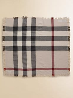 Burberry - Kid's Oversized Check Scarf/Blanket
