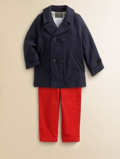 Burberry - Toddler's Twill Peacoat