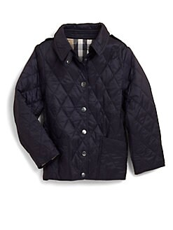 Burberry - Girl's Quilted Jacket