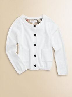 Burberry - Girl's Classic Cardigan