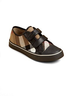 Burberry - Toddler's & Kid's Check Low-Top Sneakers