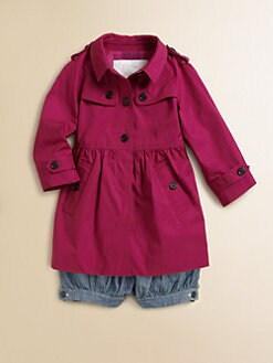 Burberry - Toddler Girl's Raincoat