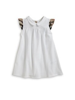 Burberry - Toddler Girl's Pique Knit Dress