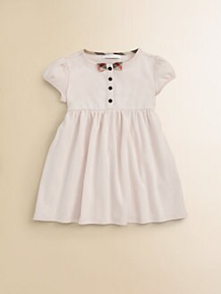 Burberry - Infant's Check Bow Dress