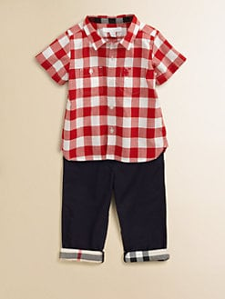 Burberry - Infant's Gingham Shirt