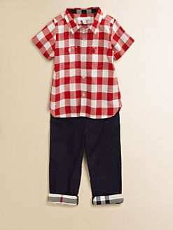 Burberry - Toddler Boy's Gingham Shirt