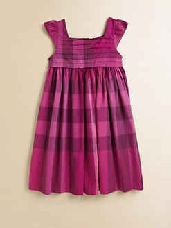 Burberry - Girl's Check Sundress