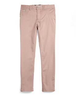 Burberry - Girl's Cotton Pants