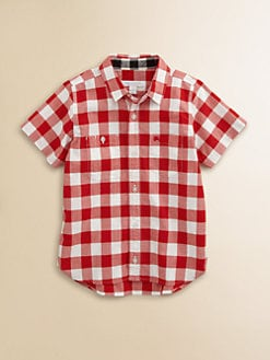 Burberry - Little Boy's Gingham Shirt