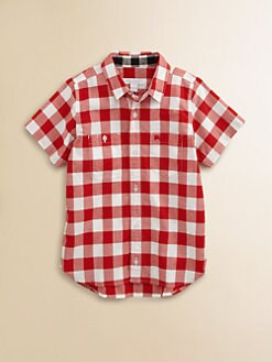 Burberry - Boy's Gingham Shirt