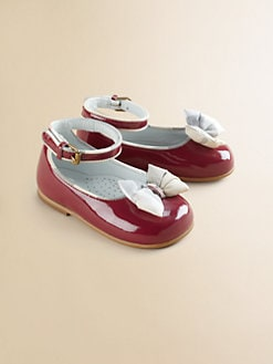 Burberry - Infant's Ballerina Bow Flats