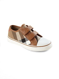 Burberry - Toddler's & Kid's Low-Top Check Sneakers