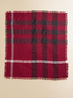 Burberry - Girl's Check Scarf