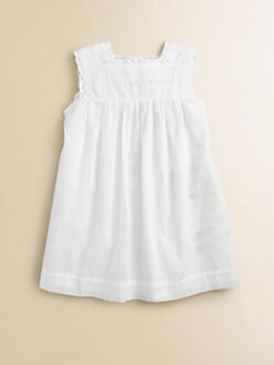 Burberry - Toddler Girl's Lace-Trimmed Dress