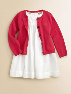 Burberry - Toddler Girl's Cotton Sweater