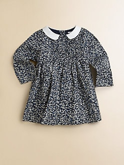 Burberry - Infant's Pleated Floral Dress