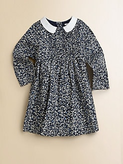Burberry - Toddler Girl's Pleated Floral Dress