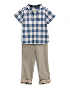 Burberry - Toddler's Check Shirt