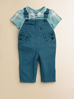 Burberry - Infant's Denim Overalls