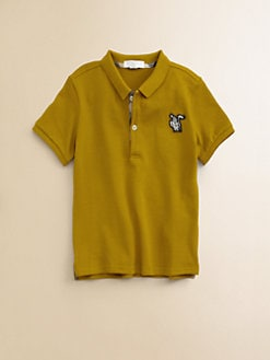 Burberry - Infant's Piqué Polo Shirt
