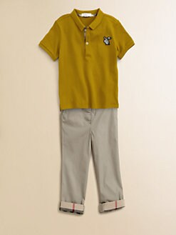 Burberry - Infant's Piqu&#233; Polo Shirt