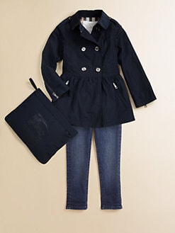Burberry - Little Girl's Trench Rain Jacket